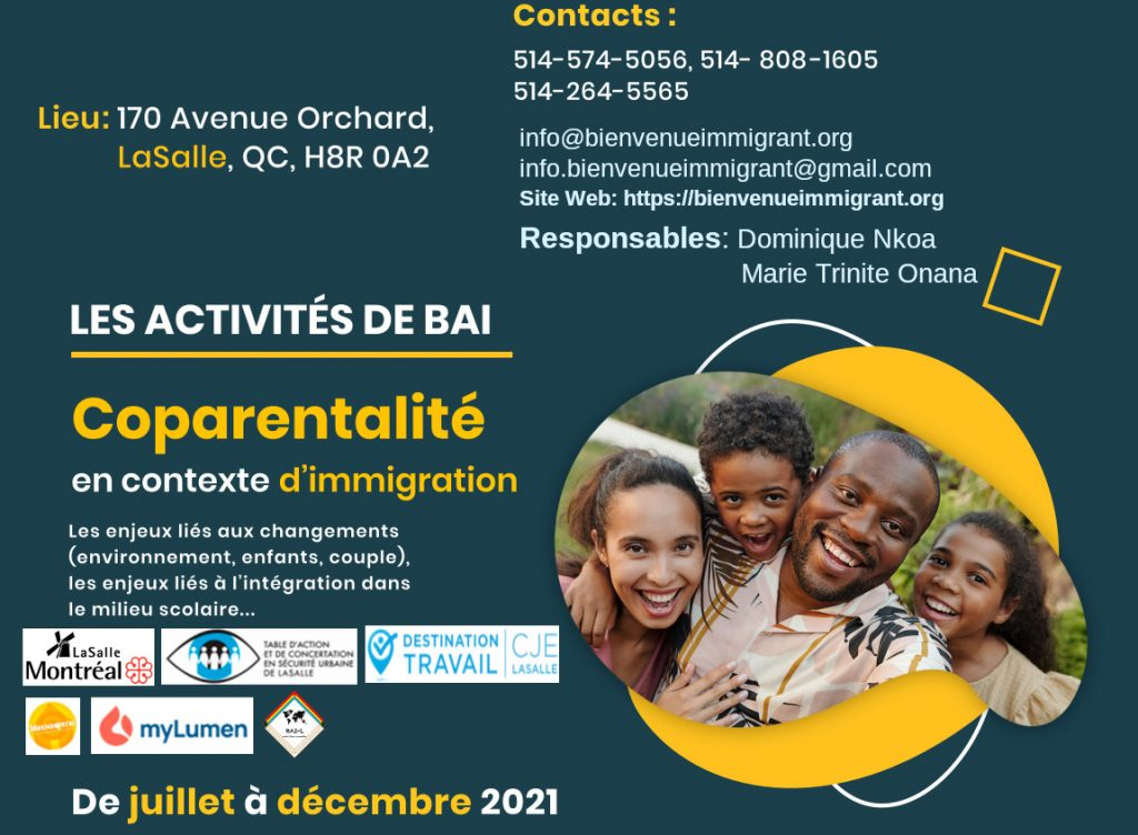 Projets BAI Coparentalité en Contexte d'Immigration
