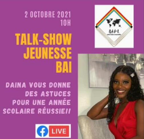 Talk-Show Jeunesse BAI 02.10.21